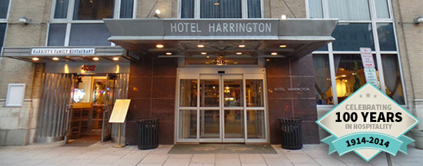 Just ½ Block From Pennsylvania Avenue Between The Capitol And White House Hotel Harrington Is Located In Heart Of Washington D C S World Famous
